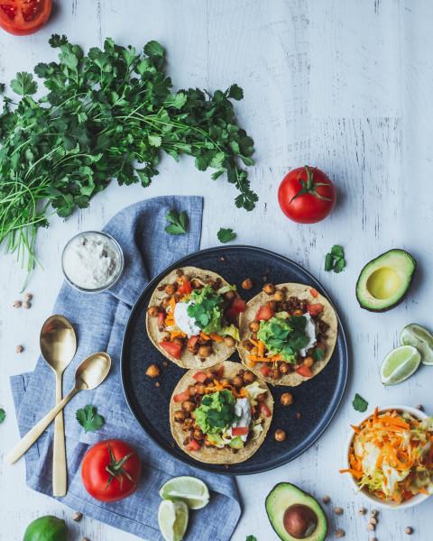 Kichererbsen-Tortillas