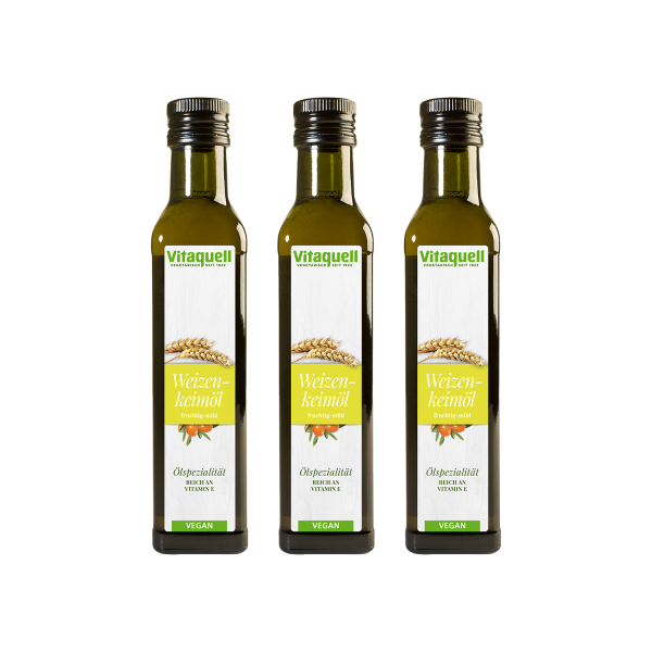 Weizenkeimöl mit Sanddorn Vorteilspack