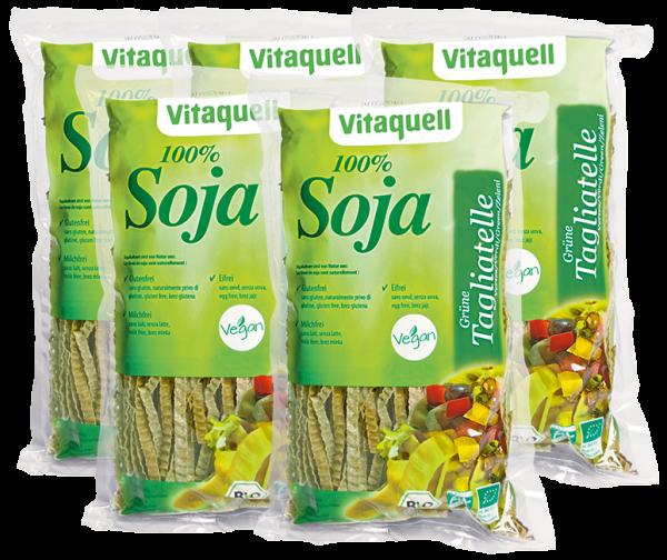 5 x Soja Grüne Tagliatelle Bio, 200 g