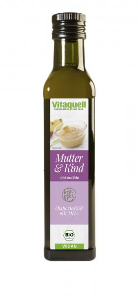 Mutter-Kind-Öl Bio, mit DHA, Beikost Öl, raffiniert 250 ml