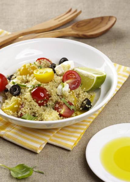 Quinoa-Salat mit Tomaten