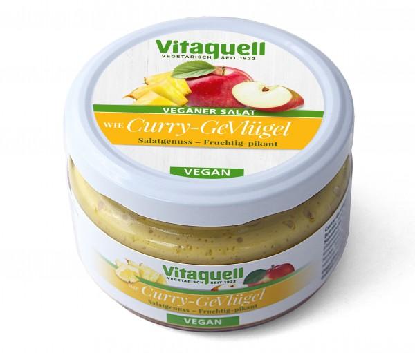 Curry-GeVlügel-Salat - vegan, fruchtig-pikant, 180 g