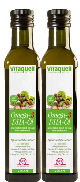2 x Omega 3 DHA Öl, 250 ml