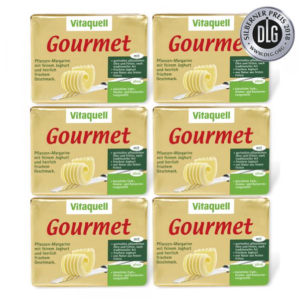 6 x Gourmet, 250 g
