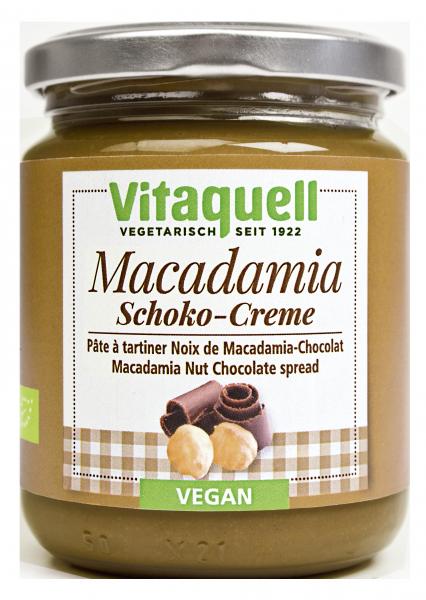 Macadamia-Schoko-Creme Bio - vegan, 250 g