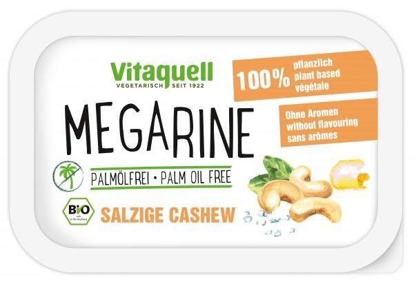 Megarine Salzige Cashew ohne Palmöl