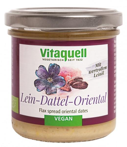 Leinölaufstrich Dattel-Oriental Bio, 130 g