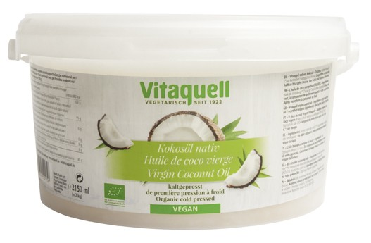 Kokosöl Bio, nativ 2 kg