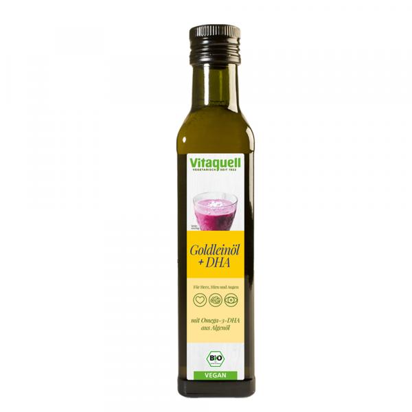 Omega-3 Goldleinöl Bio, kaltgepresst, nativ 250 ml
