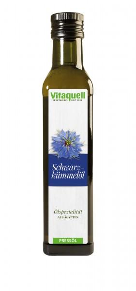 Schwarzkümmel-Öl, Bio, kaltgepresst, nativ 250 ml